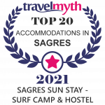 award of top 20 acommodations in sagres