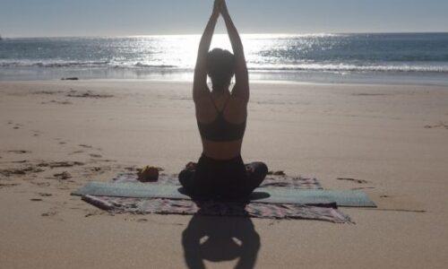 yoga-activity-sunset